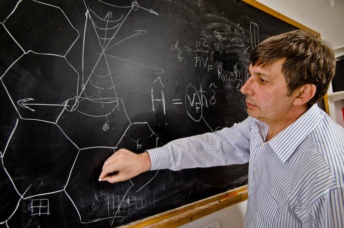 Professor AndrŽ Geim