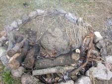 Experimento arqueológico para demostrar que la producción de la resina en el Neolítico, sin ollas de cerámica es posible.